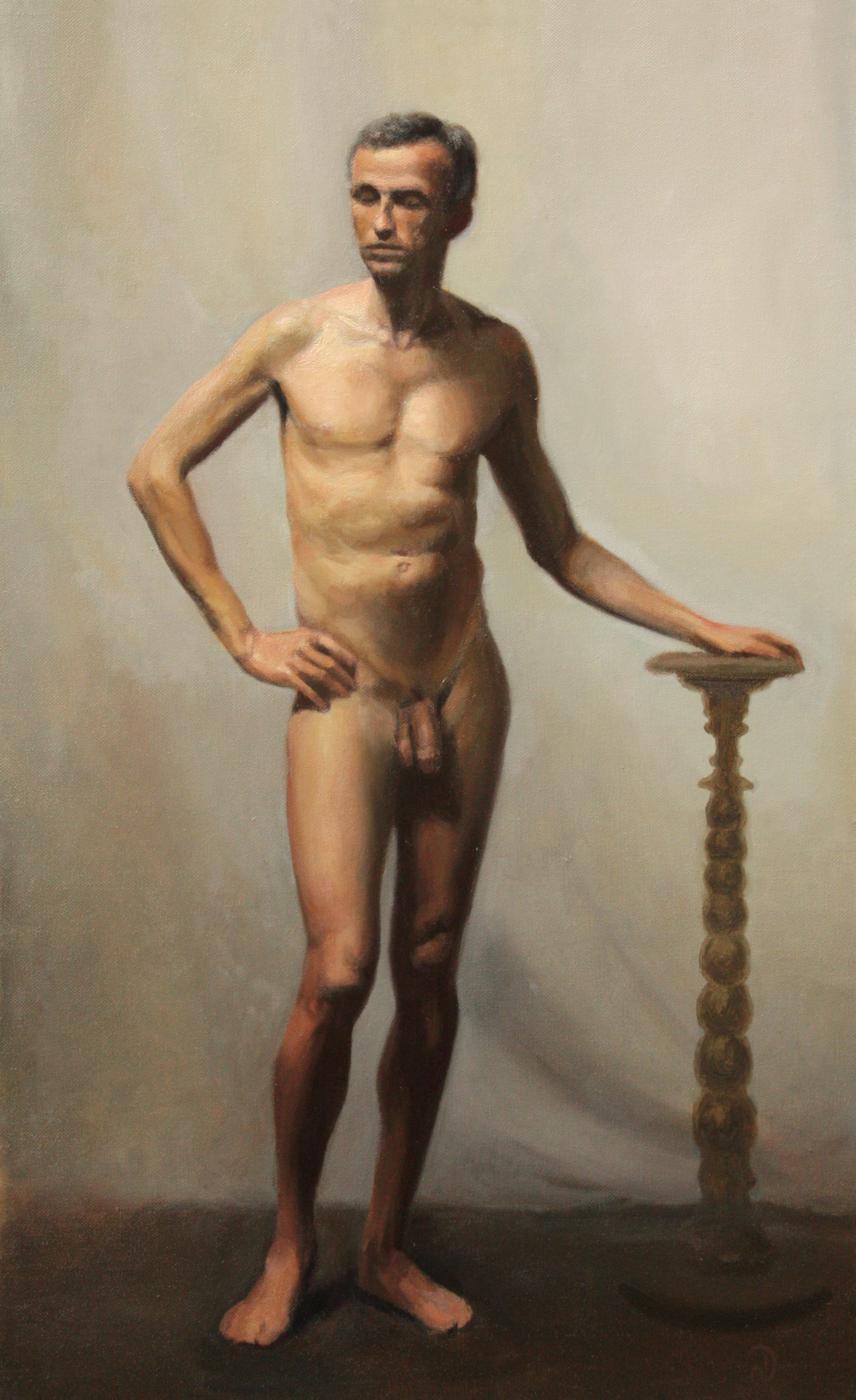 Figure painting (Male)