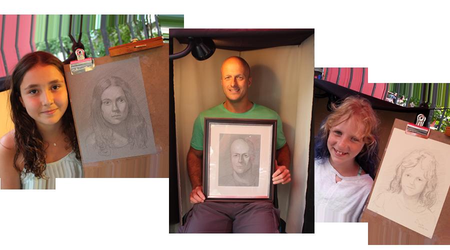 COllgae street portraits
