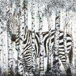 Birch Forest Zebra