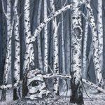 Haunted Birch Forest II