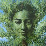 Mother Nature Painting Oil Portrait Art