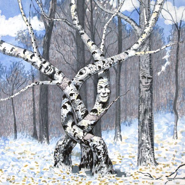 Winter Forest Joke