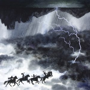 Riders on the Storm illustration of song by the Doors
