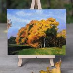 Fall Oil Painting Canadian Landscape Art