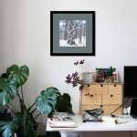 Winter Forest Joke Framed Room